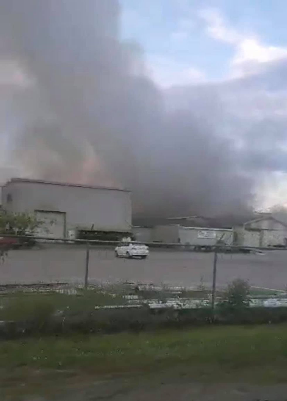 Crews battled a fire on Memorial Day at Precision Machine Inc. in Paducah, Ky.  (Source:...