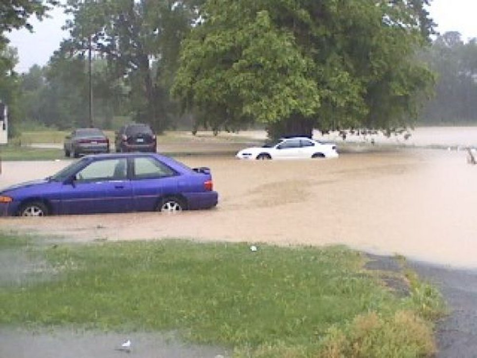 Flooding in Mound City, IL (Source: cNews)