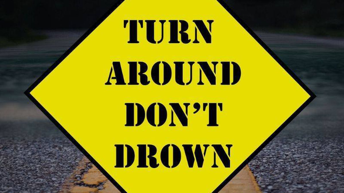 Water has been reported on some roads in our area.