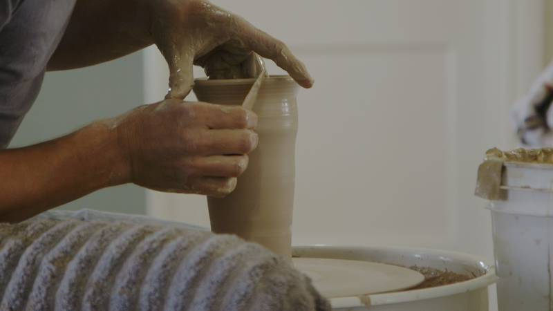 A historic Jewish synagogue in Cape Girardeau is now home to Riverside Pottery, a studio aimed...