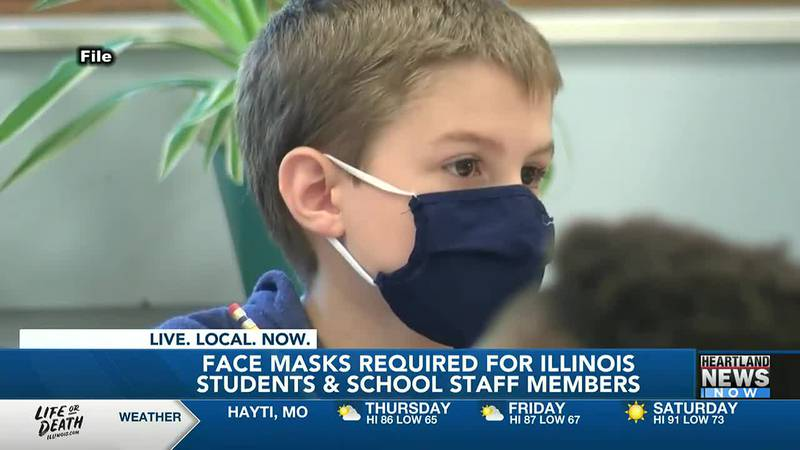 Illinois schools have new requirements regarding mask and vaccinations.