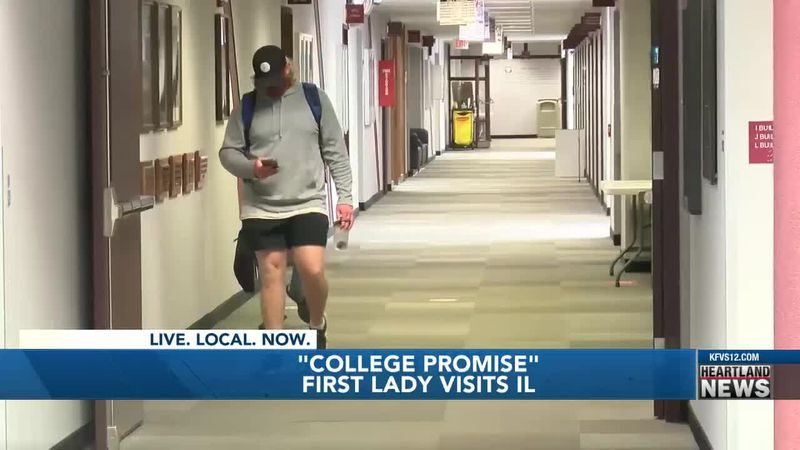 Southern Ill. community college reacts to First Lady Biden's 'college promise'
