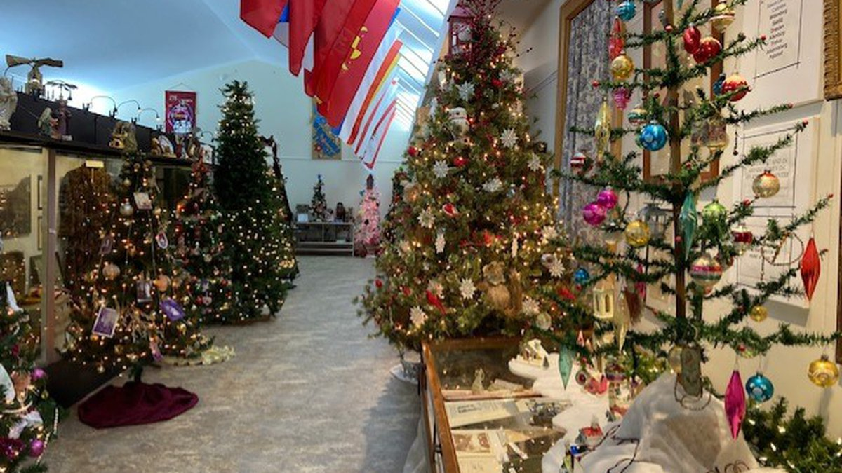 The Lutheran Heritage Center & Museum will have the Christmas Trees and other items on display...