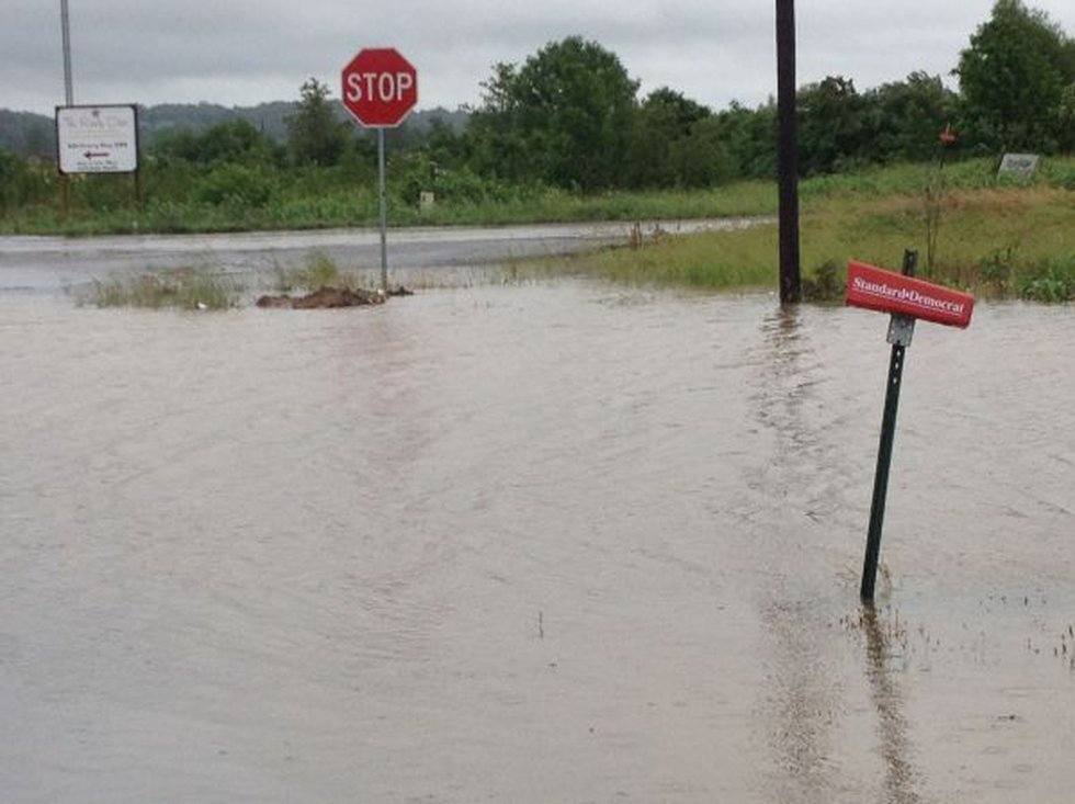 County Road 401 in Scott County (Source: KFVS Photojournalist Mike Mohundro)