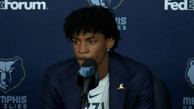 Ja Morant was selected 2nd overall by the Memphis Grizzlies. (Source: KFVS)