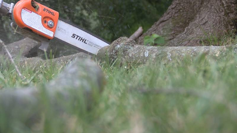 Dexter was hit with an EF2 tornado that carved a path of damage, and now crews armed with...