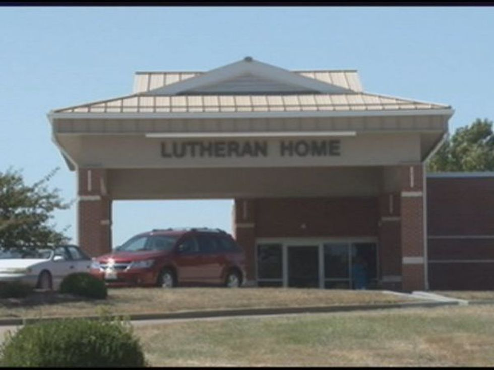 Sprenger worked at the Lutheran Home in Cape Girardeau. She's since been fired.
