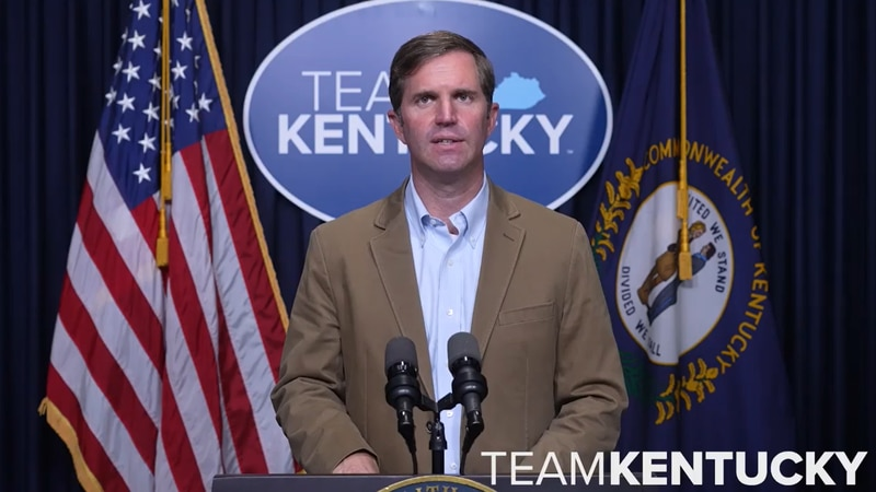 Governor Andy Beshear will give a Team Kentucky update on Monday, September 20.