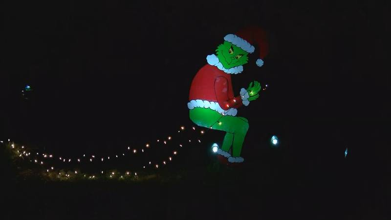 The Grinch was stolen from a family in Shelbyville and recovered days later.