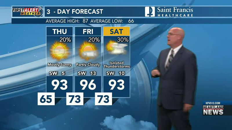 First Alert Weather @ 10 p.m. 6/16/2021
